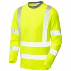 Class 3 COOLVIZ Plus Long Sleeve T Shirt Yellow