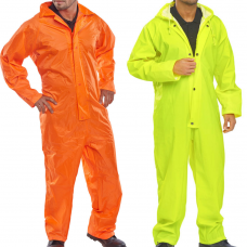 Lightweight Rainwear Nylon Rain Coverall BDri