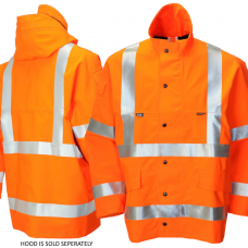 Gore-Tex High Vis Foul Weather Coat Class 3 & Railspec