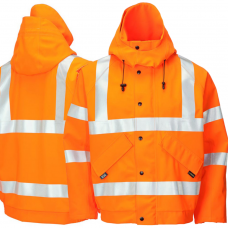 Gore-Tex High Vis Foul Weather Bomber Jacket Class 3 & Railspec