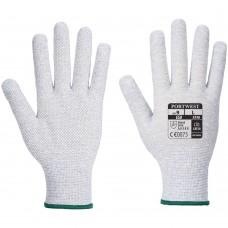 Lightweight PVC Micro Dot ESD Anti Static Precision Work Gloves