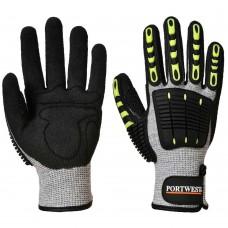 Portwest Impact, Cut & Heat Resistant Heavy Duty Work Safety Gloves