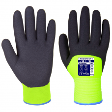 Portwest Arctic Winter Hi Vis Yellow Cold & Heat Resistant Gloves