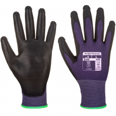 Touch Screen PU Palm Coated Intricate Work Gloves