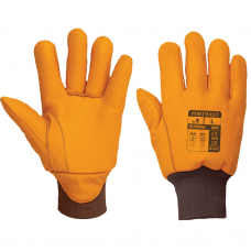 Antarctica Insulatex Thermal A245 Leather Freezer Gloves