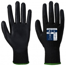 PU Palm Eco Cut 3 ISO Cut C Safety Gloves