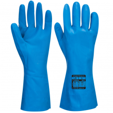 CE Food Safe Nitrile Chemical Use Gauntlet