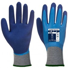 Portwest Liquid Pro Cut Fully Coated Latex Cut D Waterproof Safety Gloves
