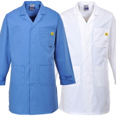ESD Anti Static Lab Coat with Pockets