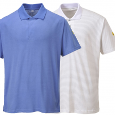 ESD Anti Static Short Sleeve Polo Shirt