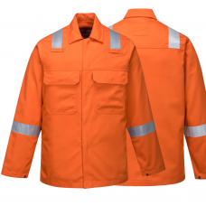 Bizweld Nordic Flame Resistant Jacket with Reflective Tape