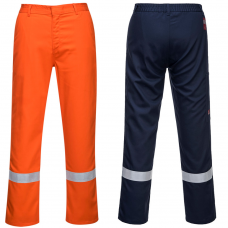 Bizweld Nordic Flame Resistant Trousers with Reflective Tape