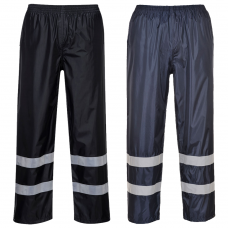 Iona Waterproof Overtrousers with Reflective Strips EN343 Class 3