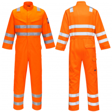 Fire Retardant Hi Vis Anti-static ARC Flash (8 cal/cm²) Railspec Coverall