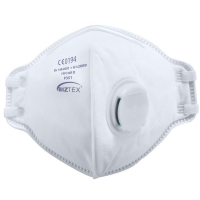 Fold Flat FFP3 NR D Biztek Dolomite Valved Respirator Face mask x 20