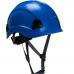Peakless 4 Point Chin Strap Safety Helmet Ratchet Adjustment