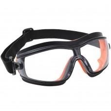 Lightweight Indirect Vent Anti Scratch Slimline Safety Goggles