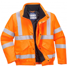 Waterproof Portwest Padded Lined Bomber Jacket RIS 3279