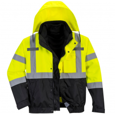 3 in 1 High Vis Bomber Jacket Portwest