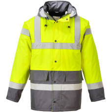 Class 3 High Vis Coat 2 Tone EN342 Tested -40C