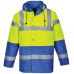 Class 3 High Vis Coat 2 Tone EN342 Extreme Cold Tested -40C