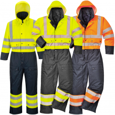 -40 C Cold and Waterproof High Vis Class 3 Coverall
