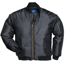 Pilot Jacket Padded Black Showerproof