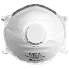 FFP3 Valved Dolomite Light Cup Respirator Face mask x 10