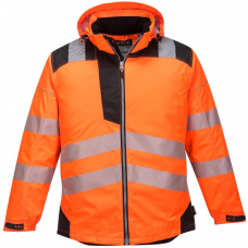PU Coated PW3 High Vis Portwest Winter Jacket
