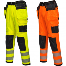 11 pocket Portwest High Visibility Trouser
