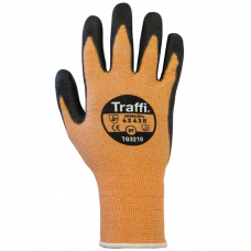 Traffi TG3210 Metric Orange Glove Cut Index B