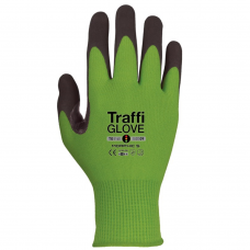 Traffi Morphic 5 MicroDex Ultra Coating Green Safety Glove
