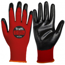 N-Dura Nitrile Coated Lightweight 15 Gauge Traffi Glove