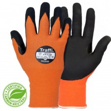 LXT Orange Cut B MicroDex Nitrile Coated Heat Resistant Gloves