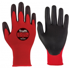Traffi X-Dura PU Coated Lightweight Work Gloves