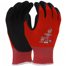 NFT® Nitrile Palm Coated Grip & Abrasion Resistant Sanitized® Adept Work Gloves