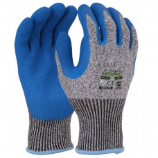 Uci Kutlass LX500 Blue Latex Palm Cut Level D Safety Glove