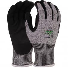 Nitrile Foam Palm Coated Cut Level D Kutlass® NX-500 Safety Gloves