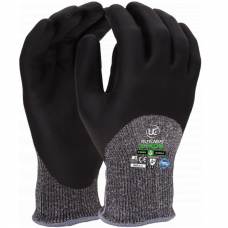 Uci XPro 5 Knuckle Coated Cut Level 5 / C NitraDry™ Foam Safety Gloves