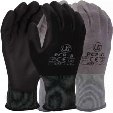 UCi PCP PU Polyurethane Palm Coated Precision Tough UCi Work Glove