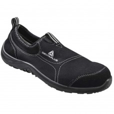 Delta Plus Miami Lightweight S2 Water Resistant Poly/Cotton Slip On Safety Shoes