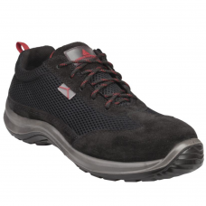 Deltaplus Asti Metal Free Full Safety Trainers Leather & Mesh