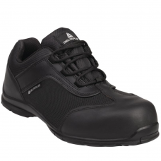 Big Boss Metal Free Full Safety Trainers Leather & Mesh