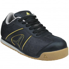 Deltaplus Metal Free Full Safety Trainers Leather & Mesh