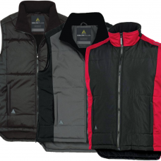 Fleece Lined Fidji Bodywarmer with Polar Fleece Collar