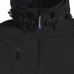 "Water Resistant ""Softshell"" Jacket with Detachable Hood"