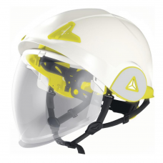 Deltaplus Onyx Double Shell Safety Helmet with Full Face Visor