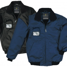 Reno Bomber Jacket Removable Sleeves & Badge Holder