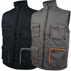Bodywarmer with Windbreak Armhole and 7 Pockets