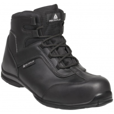 Metal Free Speed Lace Lightweight Black Leather S3 Delta Safety Boot